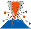 Leinwandbild Motiv 噴火