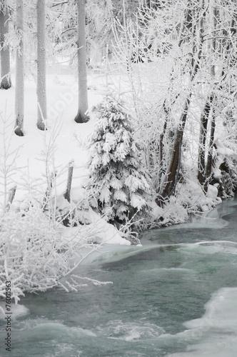 canvas print picture Österreich, Salzburger Land, Winterlandschaft