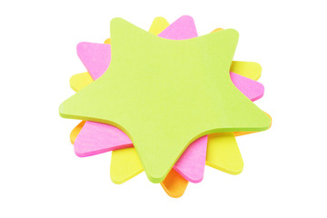Colorful Star Shape Paper Stickers
