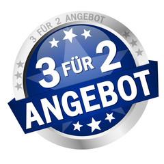 Button - 3 FÜR 2 ANGEBOT