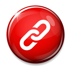 Link sign icon. Hyperlink chain symbol