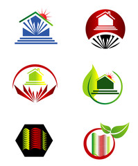 Collection Real esatate logo set