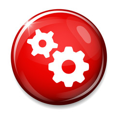 gear mechanism symbol.