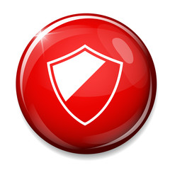Shield sign. Protection icon.