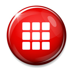 Thumbnails grid icon. Gallery view option symbol.