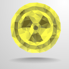 Polygon radiation