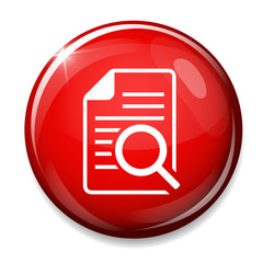 file Search sign icon. Find in document symbol.