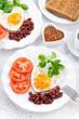Breakfast Valentine's Day, vertical
