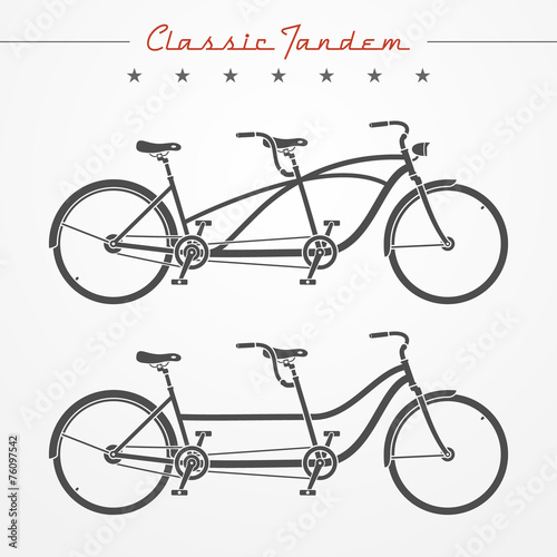 Tandem bicycle - 76097542