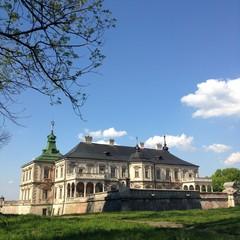 Castle in west Ukraine