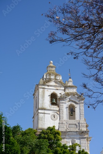 canvas print picture Kirche in Lagos
