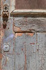 Alte Türe in Lagos