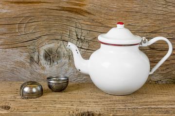 Old tea kettle