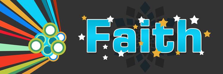 Faith Colorful Dark
