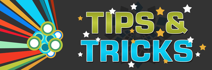 Tips And Tricks Colorful Dark
