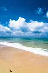 Heavenly Blue On a Beach
