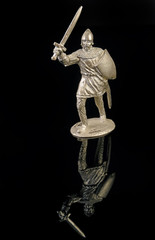 Medieval warrior with sword - Tin Soldier