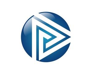 triangle logo template v.5