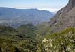 canvas print picture - Berge auf der Insel Reunion
