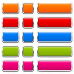 SET of metallic buttons – 3 Variants (IV)