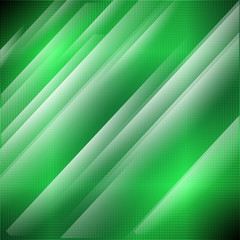 Green technology grid background. Vector