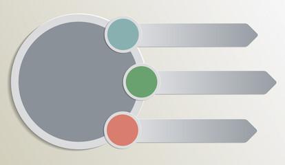 Plain Infographic design