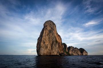 Dramatic Karst Scenery in Koh Phi Phi, Thailand