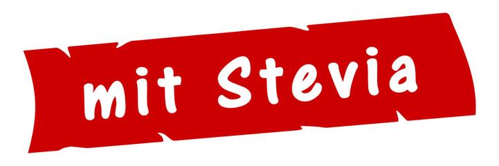 ab14 AufdruckBanner - mit Stevia - rot 3zu1 g2984