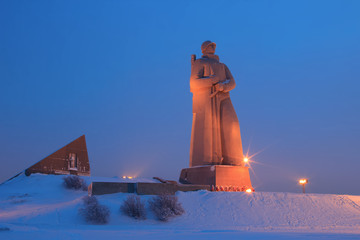 Monument Defenders of the Soviet Arctic during the Great Patriot