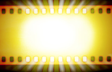 Film strips and light rays