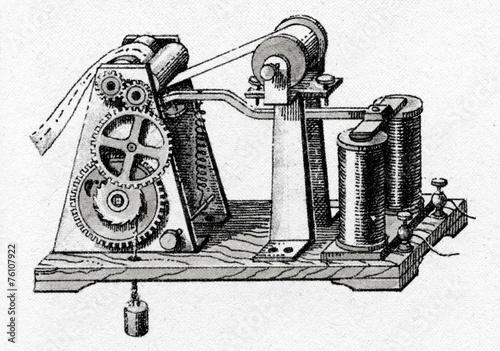 Morse telegraph receiver 1838 - 76107922