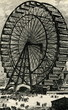 Leinwandbild Motiv Chicago Exposition 1893 - The Ferris Wheel