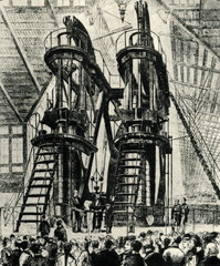 Corliss Centennial Engine (Philadelphia, 1876)