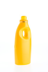 Fabric softener bottle isolated