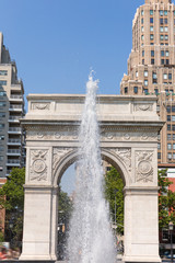 Manhattan Washington Square Park Arch NYC US