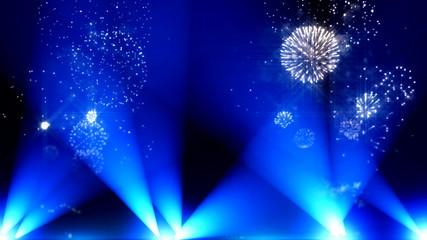 Happy New Year 2015 sparklers firework