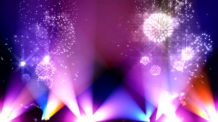 Colorful flashes background  art 4
