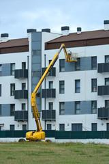 reparacion de una fachada