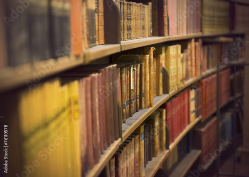 book store with antique books