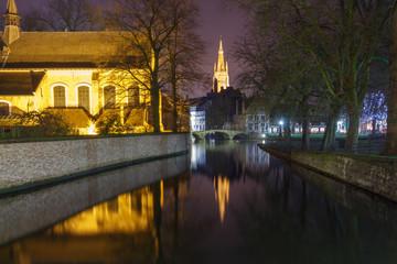 Bruges. Park Minnewater.