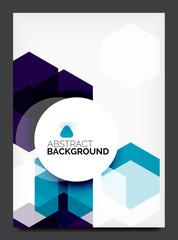 Abstract modern flyer - brochure template