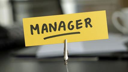 Manager written