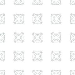 Speaker volume sign icon. Sound symbol. Seamless pattern