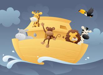 Animals in the Ark