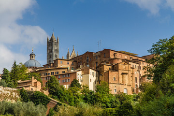 View of Old Buildings in Siena-Siena,Tuscany,Italy