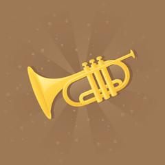 Shiny trumpet.