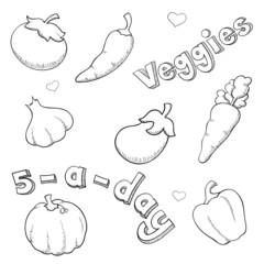 Sketchy Veggies