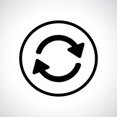 Black flat icon in a circle.