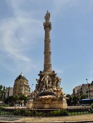 Marseille column, France