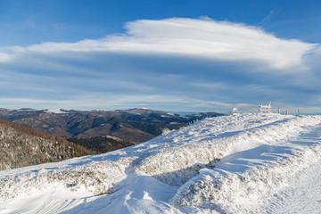 paysage hivernal des Vosges